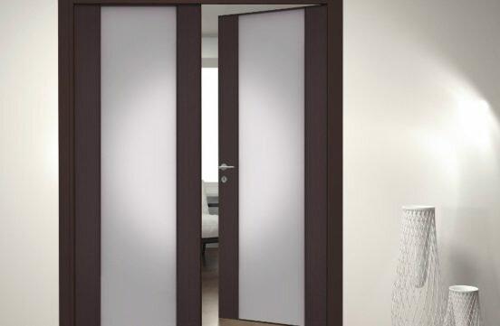 Размеры распашных межкомнатных дверей