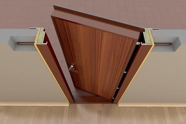 двер коробка
