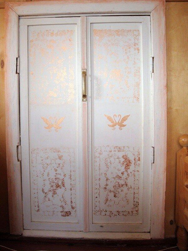 Декупаж дверей фото своими руками 142