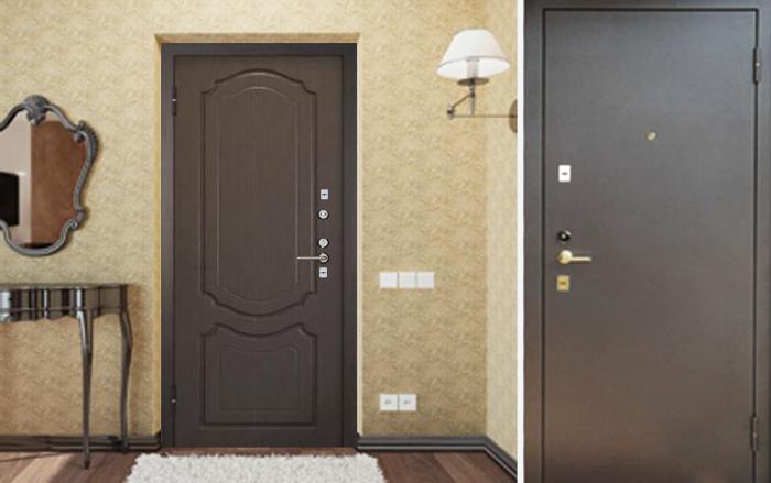 металлическая дверь цена