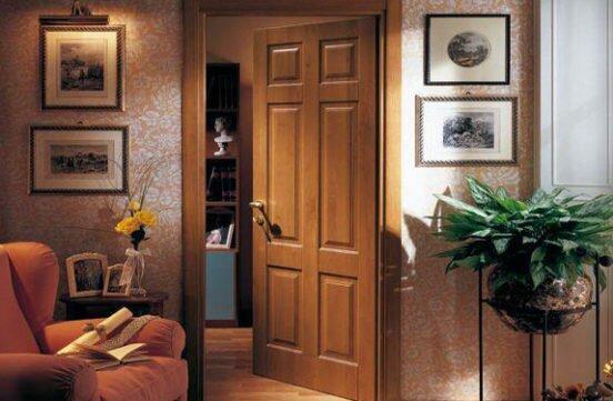 Высота и ширина межкомнатных дверей с коробкой