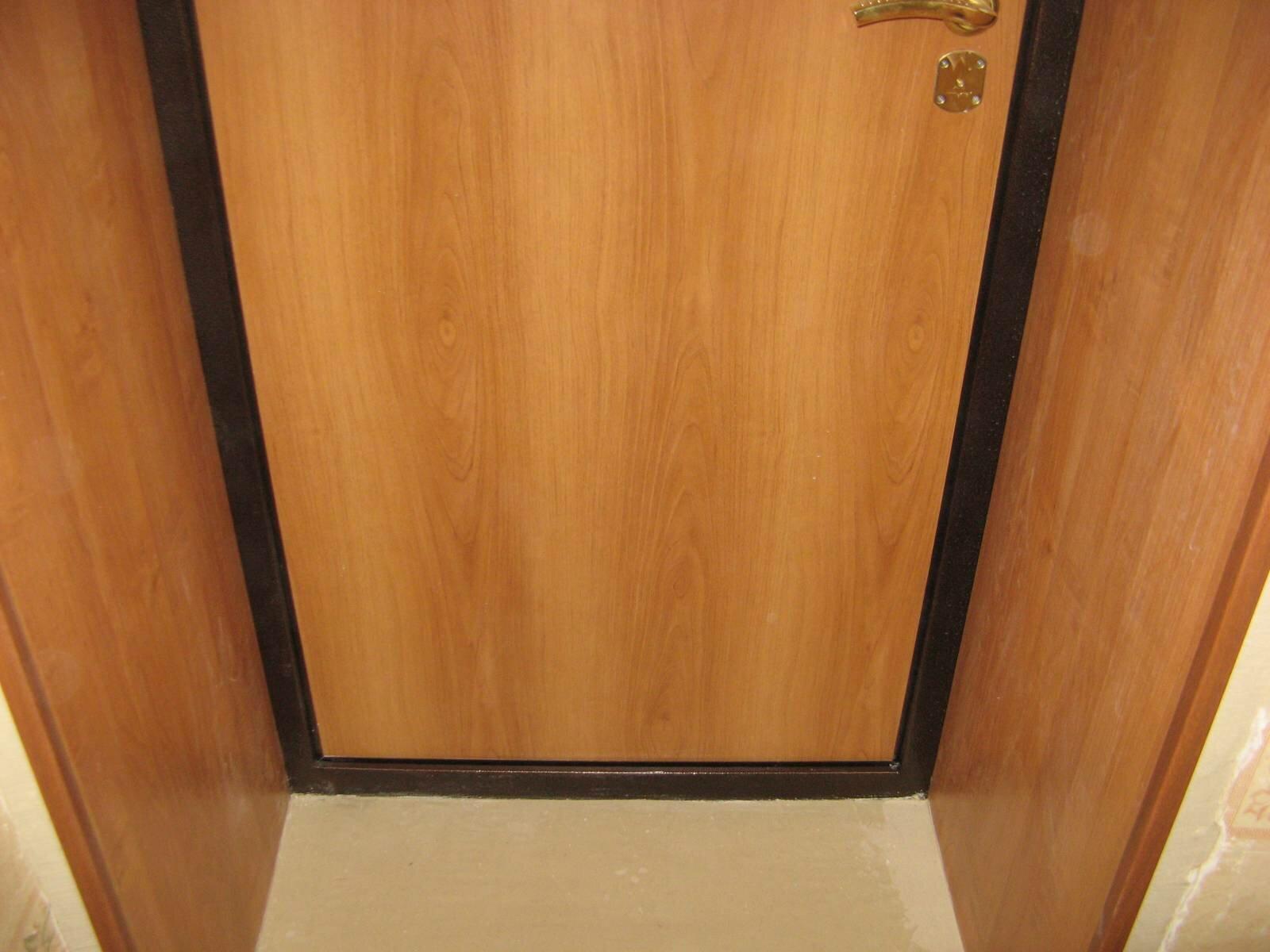 Отделка откосов мдф входной двери своими руками