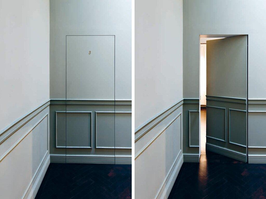 Скрытая дверь своими руками
