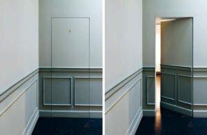 Как сделать потайную дверь самому: как спрятать