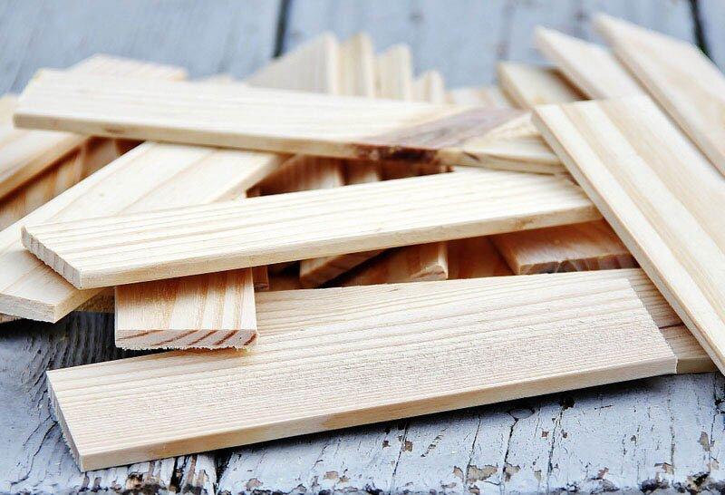 рейки из дерева