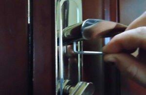 Как починить дверную ручку входной двери своими руками