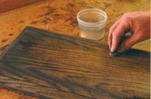 Искусственное старение древесины: фото и видео