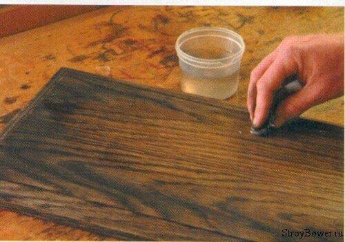 Старение древесины своими руками