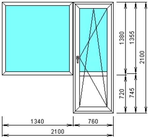Размеры входных дверей: стандарты.