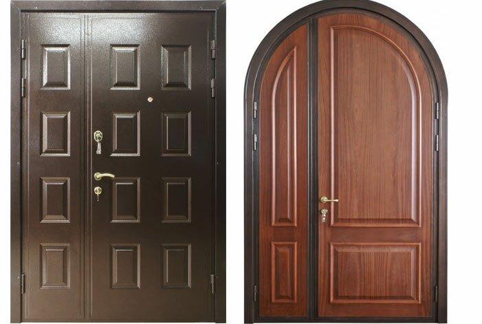 Стандартные размеры входных металлических дверей с коробкой