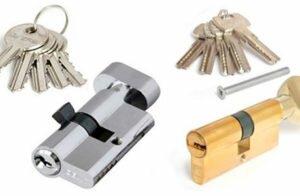 Как снять и разобрать личинку замка двери