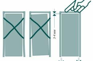 Какой нужен зазор между дверью, полом и коробкой